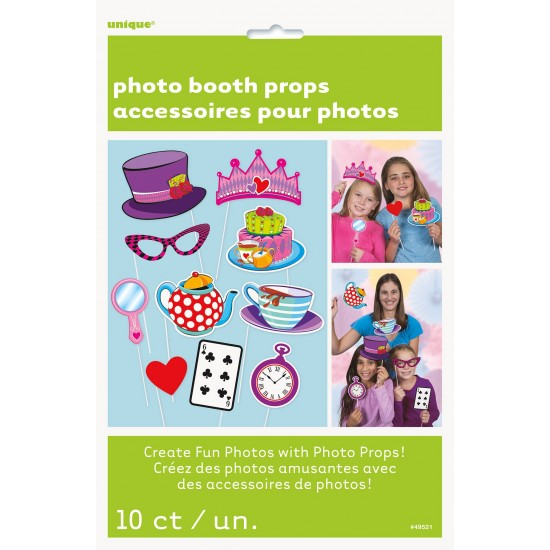 """""""Photo Booth Props"""" Tea Party Set"""