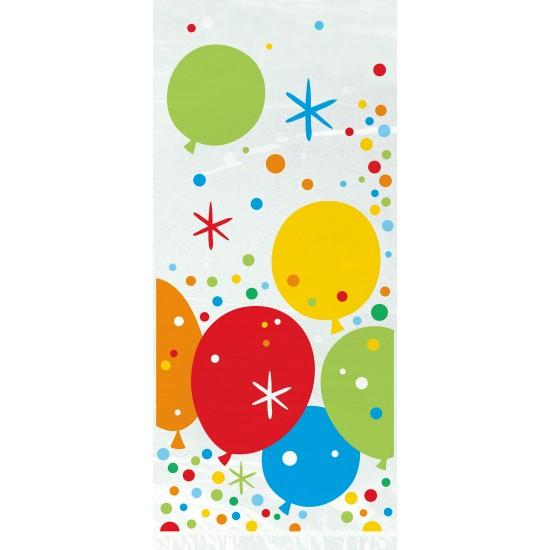 Σακουλάκια διάφανα με μπαλόνια
