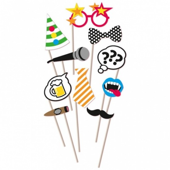 """Photo Booth Props"" Party Set"
