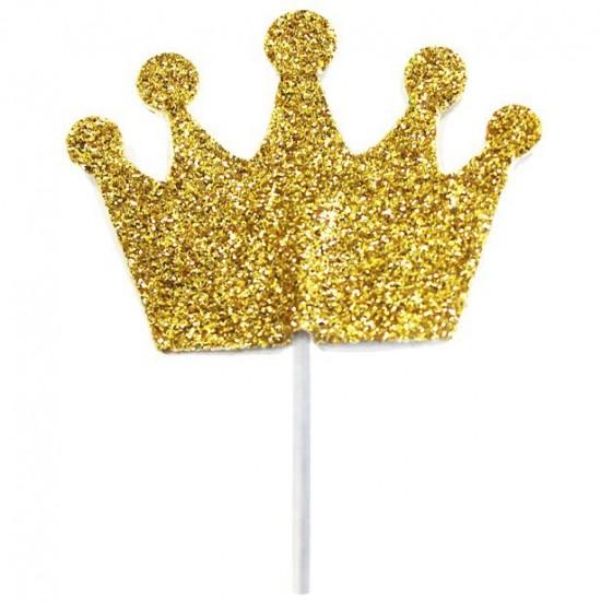 """Princess Crown"" Cupcake Topper"