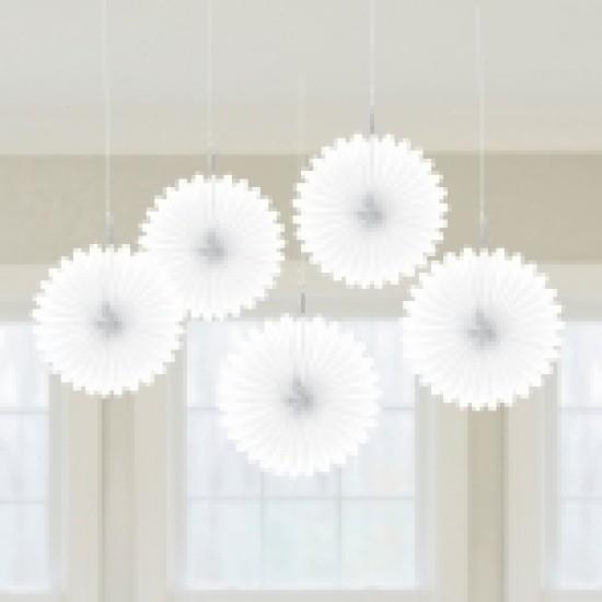 Λευκές βεντάλιες mini