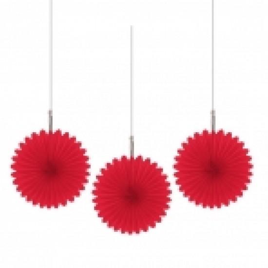 Κόκκινες βεντάλιες mini