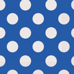 """""""Royal Blue Dots"""" Πετσέτα"""
