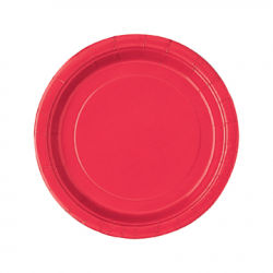 """Ruby Red"" Πιάτο Γλυκού"