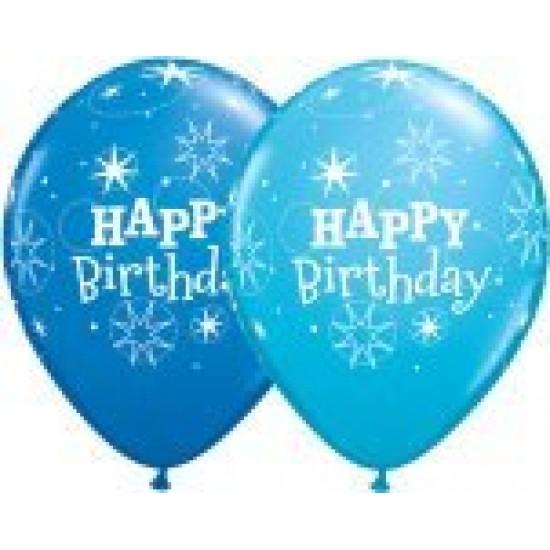 """Μπαλόνι 11"""" latex Happy Birthday"""