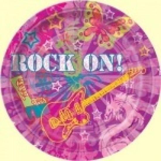"""""""Rock On"""" Πιάτο Φαγητού"""
