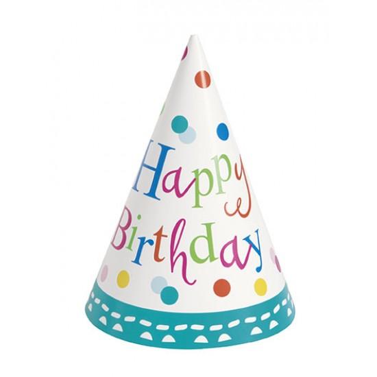 """Confetti Birthday"" Καπέλο"