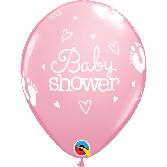 "11"" Baby Shower Pink"