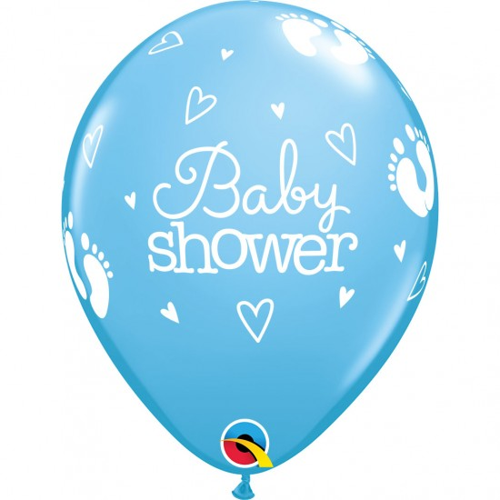 "Μπαλόνι 11"" Latex Baby Shower Boy"