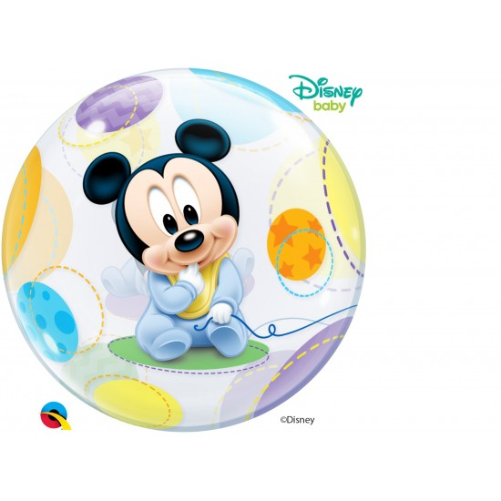 BUBBLE BABY MICKEY MOUSE