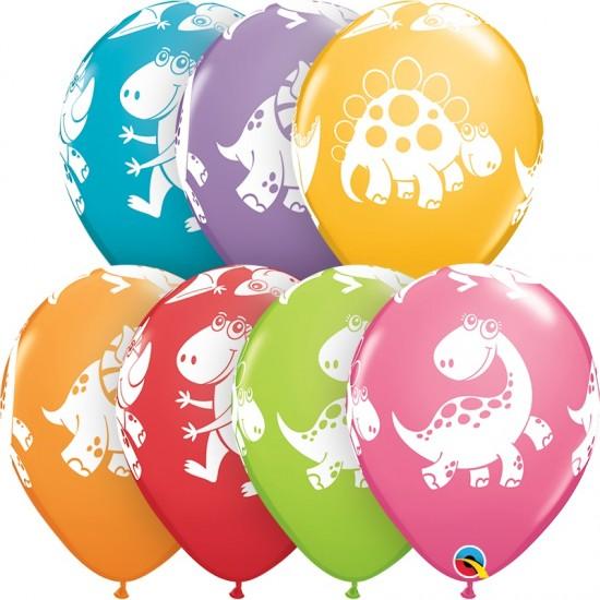 """Μπαλόνι 11"""" latex Δεινοσαυράκια"""