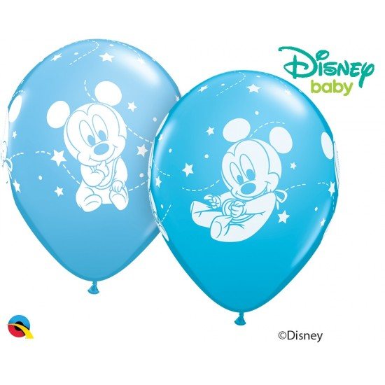 """11"""" Mickey Mouse Baby Stars"""