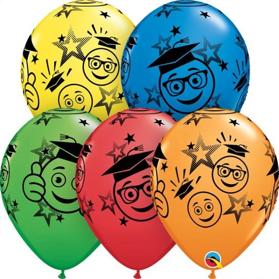 """11"""" Graduation Smileys"""