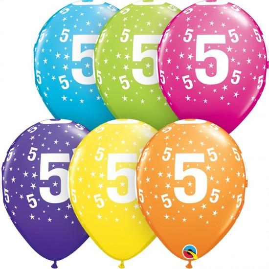 """Μπαλόνι 11"""" λάτεξ #5"""