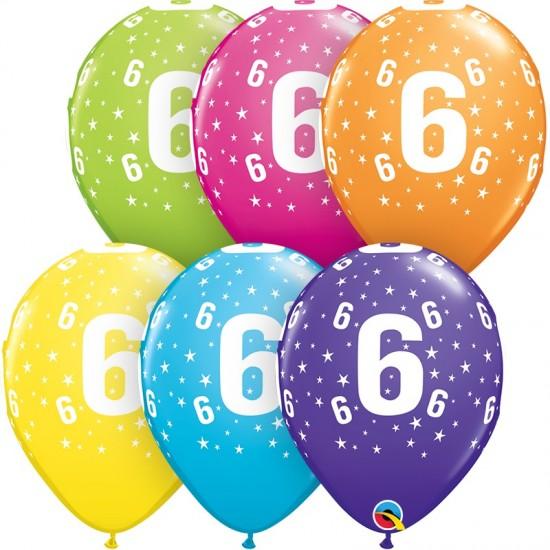 """Μπαλόνι 11"""" λάτεξ #6"""