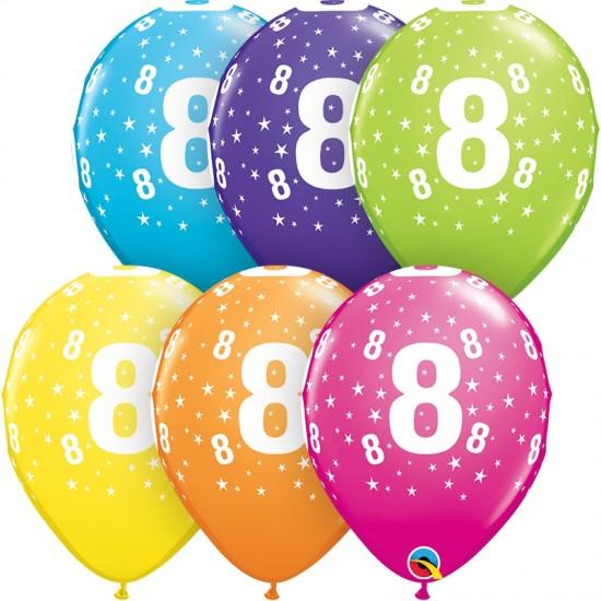 """Μπαλόνι 11"""" λάτεξ #8"""