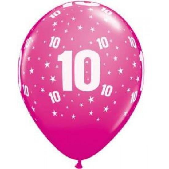 """Μπαλόνι 11"""" λάτεξ #10"""