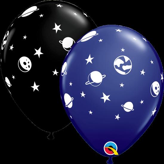 """Μπαλόνι 11"""" latex διάστημα"""