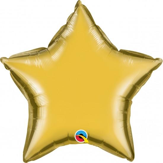 "20"" STAR METALLIC GOLD"