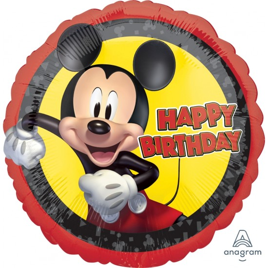 """18"""" MICKEY MOUSE FOREVER BIRTHDAY"""