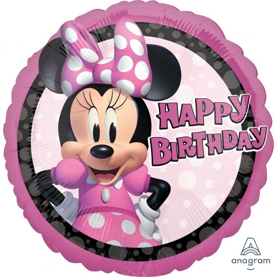 "18"" MINNIE MOUSE FOREVER BIRTHDAY"