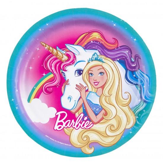 """Barbie Dreamtopia"" Πιάτο Φαγητού"