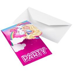 """Barbie Dreamtopia"" Προσκλήσεις"