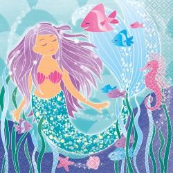 """Mermaid"" Χαρτοπετσέτα"