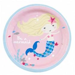 """Be A Mermaid"" Πιάτο Γλυκού"
