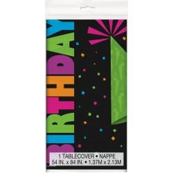"""Neon Birthday"" Τραπεζομάντηλο"