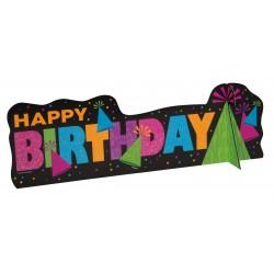 """""""Neon Birthday"""" Διακοσμητικό Τραπεζιού"""