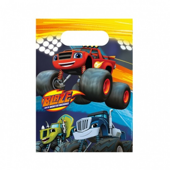 """""""Blaze and the Monster Machines"""" Σακουλάκια"""