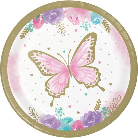 """Butterfly Shimmer"" Πιάτο Γλυκού"