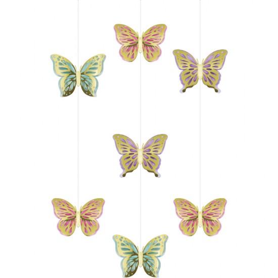 """Butterfly Shimmer"" Κρεμαστά Διακοσμητικά"