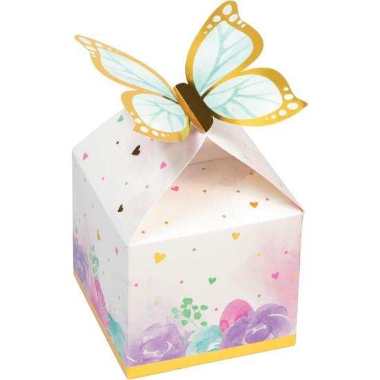"""""""Butterfly Shimmer"""" Κουτάκια για μικροδωράκια"""