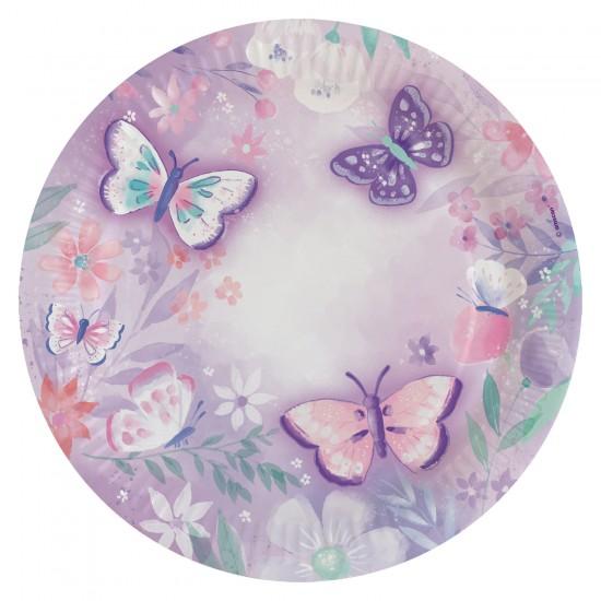 """Flutter-Πεταλούδες"" Πιάτο Φαγητού"