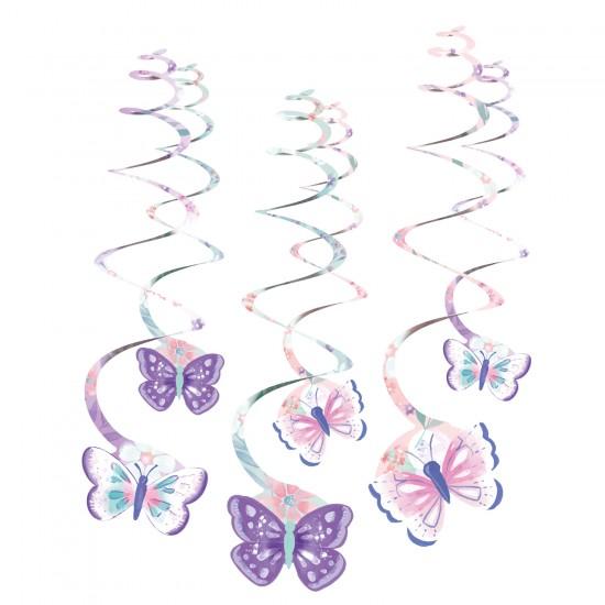 """""""Flutter-Πεταλούδες"""" Κρεμαστά Διακοσμητικά"""