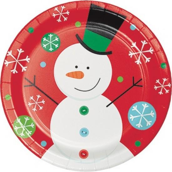 """""""Snowflake Fun"""" Πιάτο Φαγητού"""