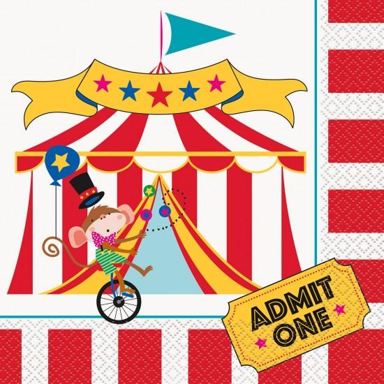 """Circus Carnival"" Χαρτοπετσέτα"