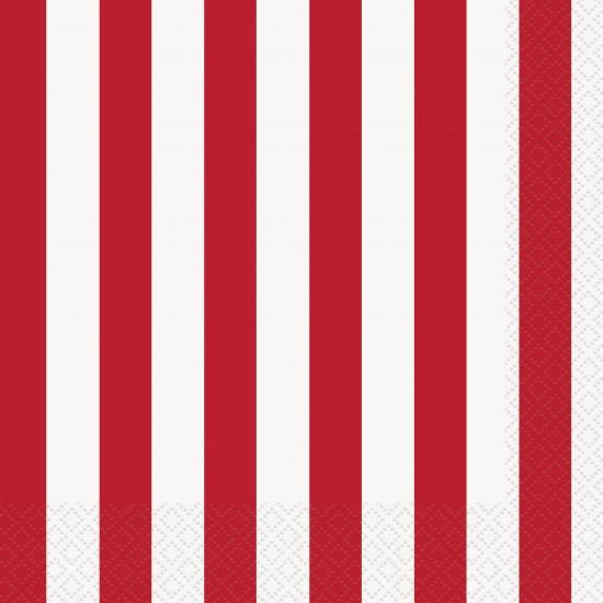 """Ruby Red Stripes"" Χαρτοπετσέτα"