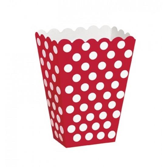 """Ruby Red Dots"" Κουτάκια"