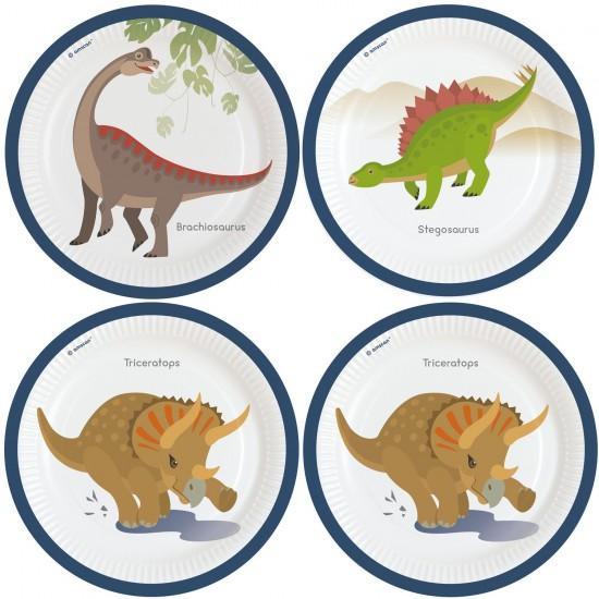 """Happy Dinosaur"" Πιάτο Φαγητού"
