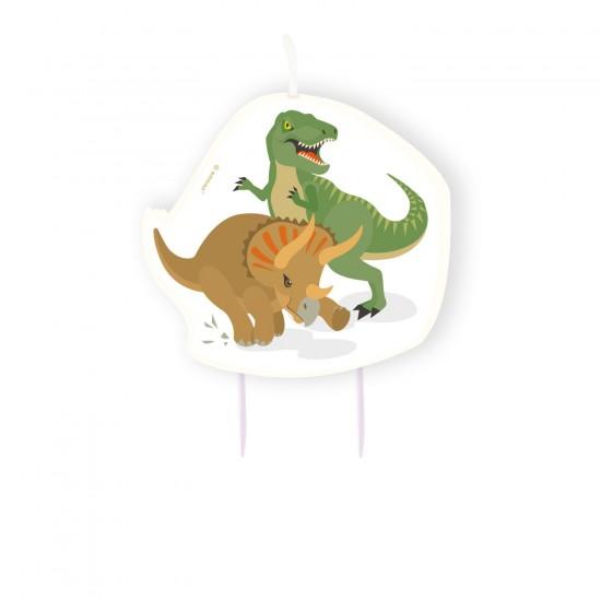 """Happy Dinosaur"" Κεράκι"