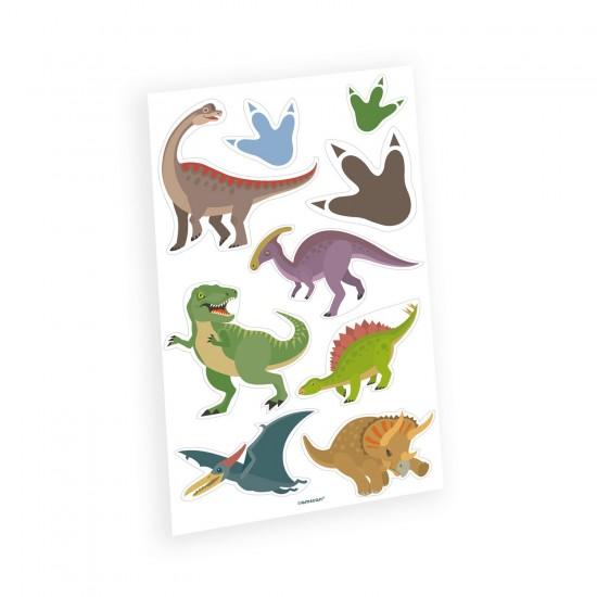 """""""Happy Dinosaur"""" Tatoos"""