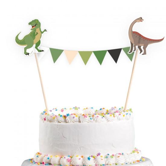 """""""Happy Dinosaur"""" Διακοσμητικό Τούρτας"""