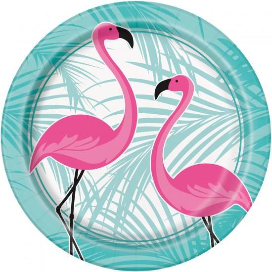 """Flamingo Party"" Πιάτο Φαγητού"