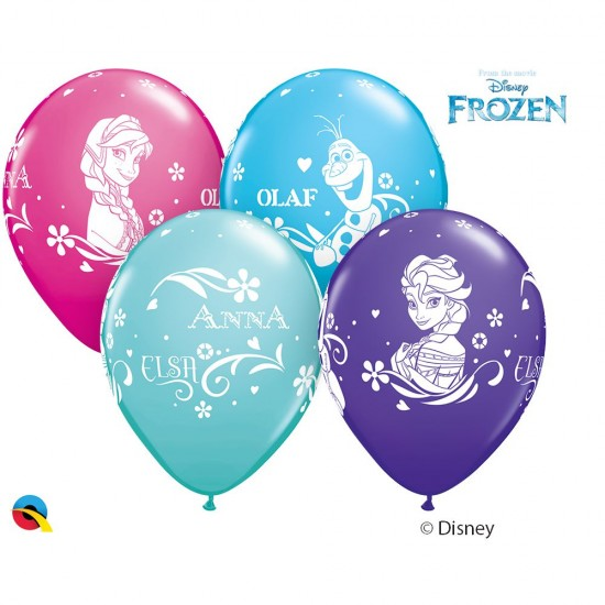 """Frozen"" Μπαλόνι 11"" λάτεξ Frozen"