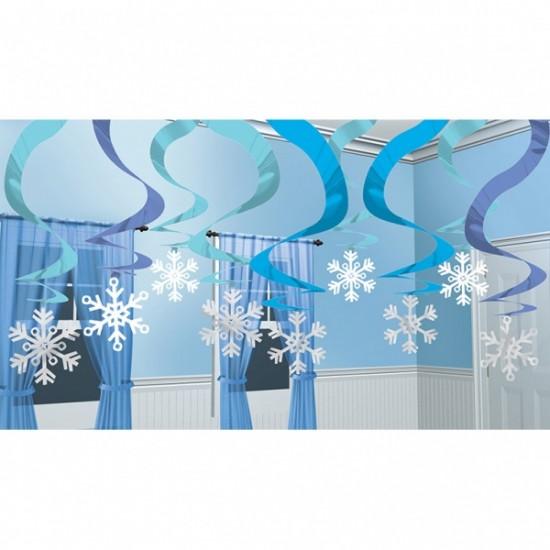 """Frozen"" Χιονονιφάδες Διακοσμητικές"