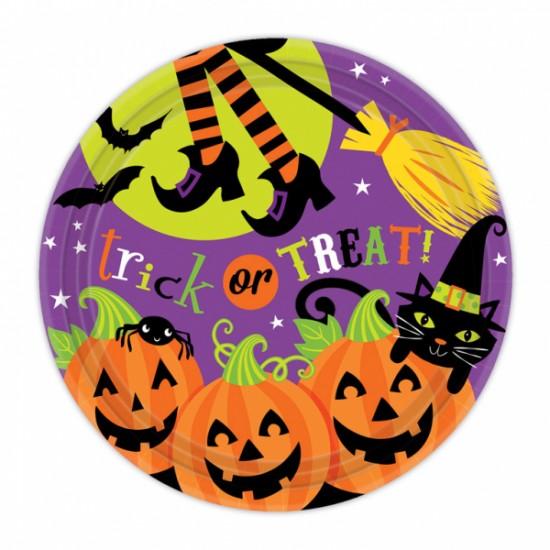 """""""Witches' Crew"""" Πιάτο φαγητού Halloween"""