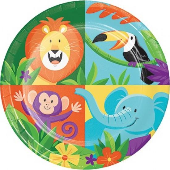 """Jungle Safari"" Πιάτο Γλυκού"